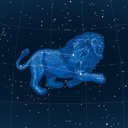 OROSZLÁN csillagkép