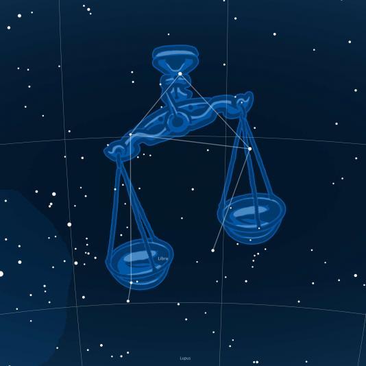 MÉRLEG csillagkép