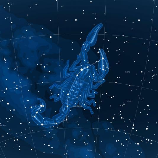 SKORPIÓ csillagkép